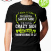 I have 3 slides the quiet and sweet side the fun and crazy side shirt