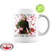 Jason Voorhees I will fucking murder you with hugs and kisses mug