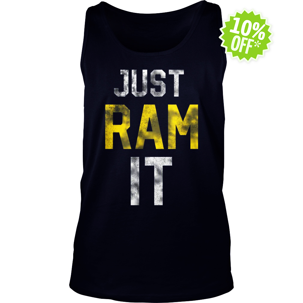 Just Ram It tank top