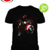 Marvel All avengers heroes in one shirt