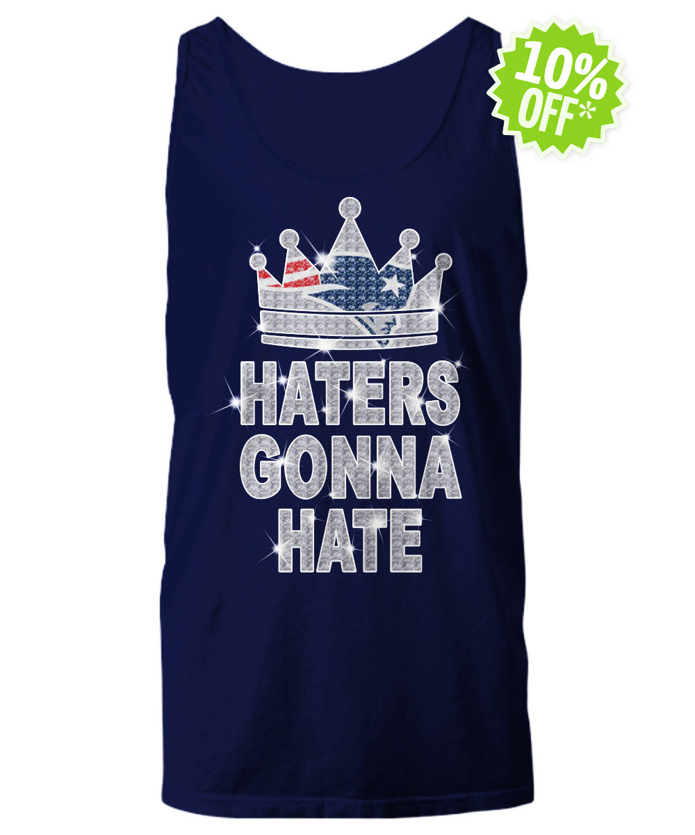 Patriots haters gonna hate tank top