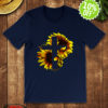 Sunflower Jesus Cross shirt