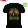 The man in black fled across the desert and the gunslinger followed shirt