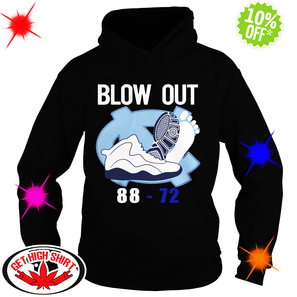 Blow out 88-72 hoodie