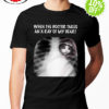 Cat when the doctor takes an x-ray of my heart shirt