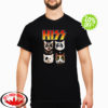Hiss Kiss Cats Kittens Rock shirt