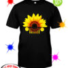 Sunflower jeep car shirt