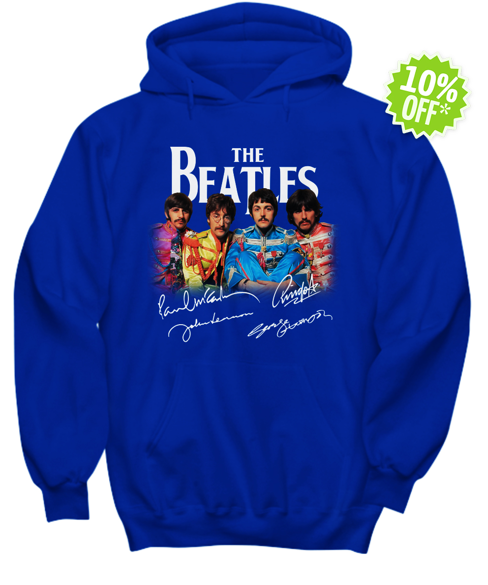 The Beatles Sgt. Pepper's Lonely Hearts Club Band signature hoodie