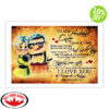 Up To my husband once upon a time I love you poster