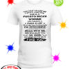 You can't scare me I have a crazy mom she is a Puerto Rican Woman shirt