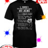 5 Things You Should Know About My Aunt She is A Crazy Aunt shirt
