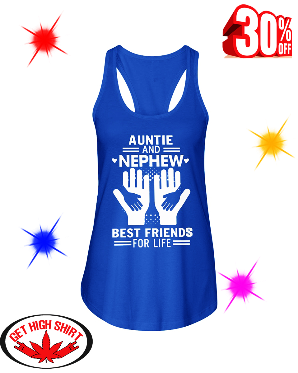 Auntie and Nephew Best Friends For Life flowy tank
