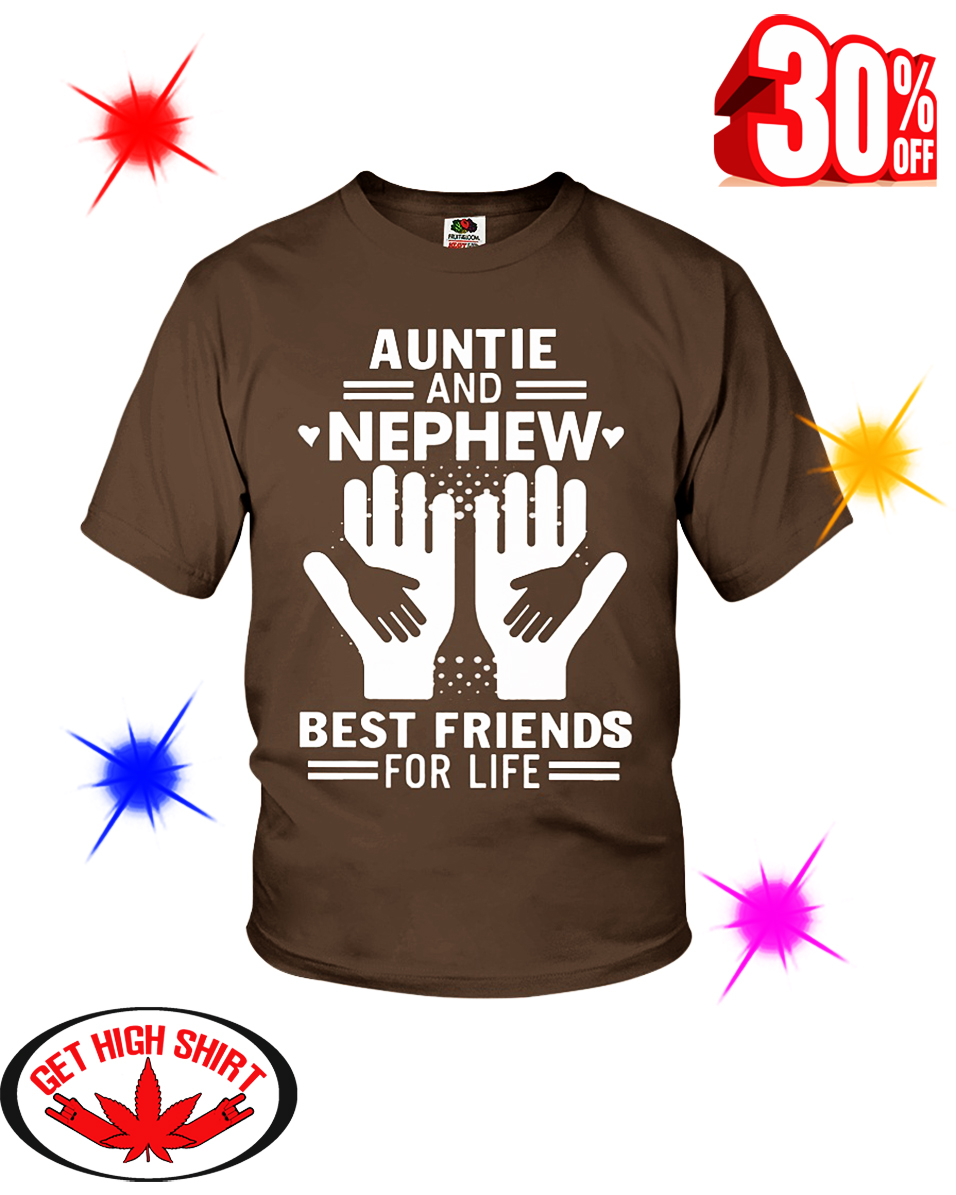 Auntie and Nephew Best Friends For Life youth tee