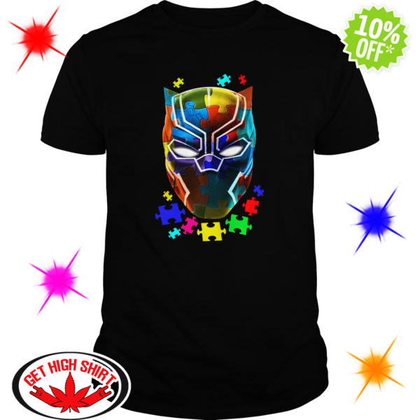 Black panther Autism shirt