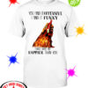 Chicken you find it offensive I find it funny that's why I'm happier than you shirt