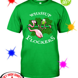 Flamingo Whassup Flockers Irish shirt