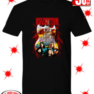 Guitar Led Zeppelin shirt
