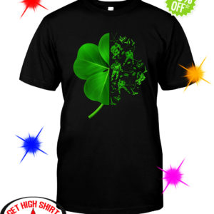 Ice hockey Irish ST Patrick's Day shirt