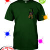 Irish Dachshund pocket St Patrick's day shirt