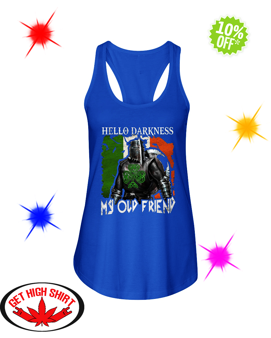 Knights Hello Darkness My Old Friend flowy tank