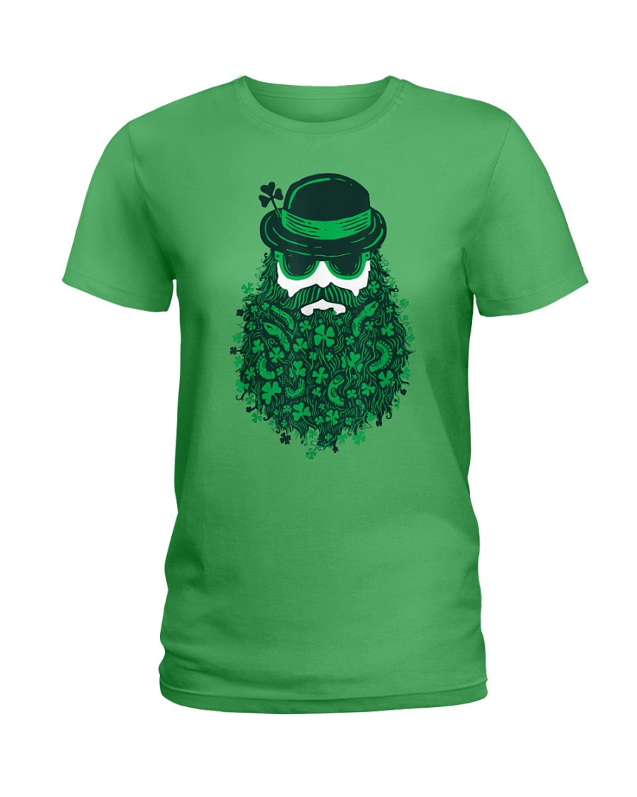 Moustache Leprechauns St. Patrick's Day lady shirt