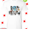 Peter Griffin Bender Rick Sanchez and Homer Simpson Roger's Place shirt