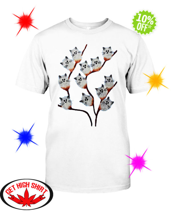 Pussy willow Cat shirt