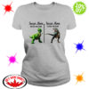 Rex Dinosaur soccer mom before during the game shirt