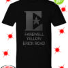 Rhinestone Elton John Farewell Yellow Brick Road shirt