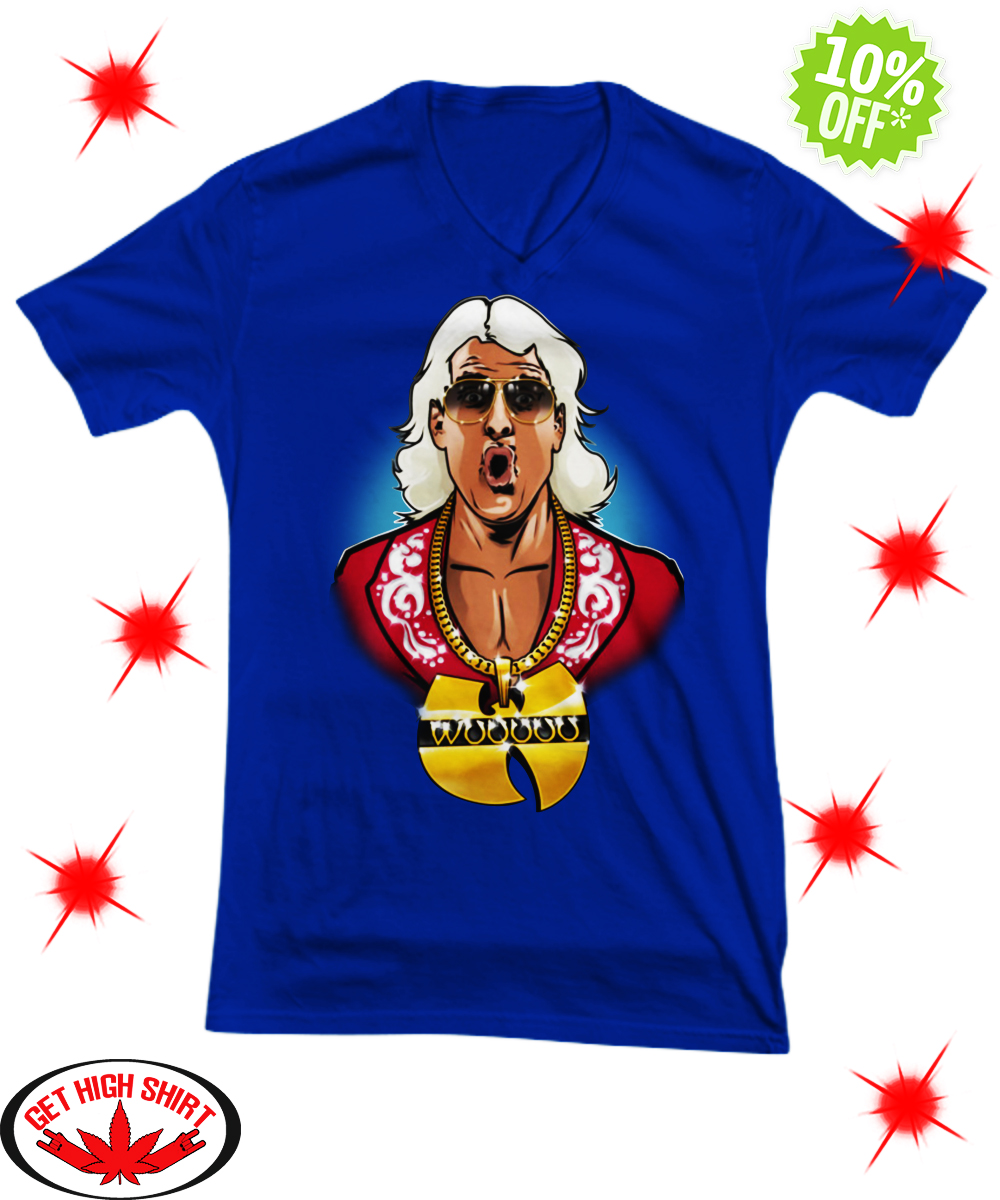 Ric Flair Wu Tang v-neck