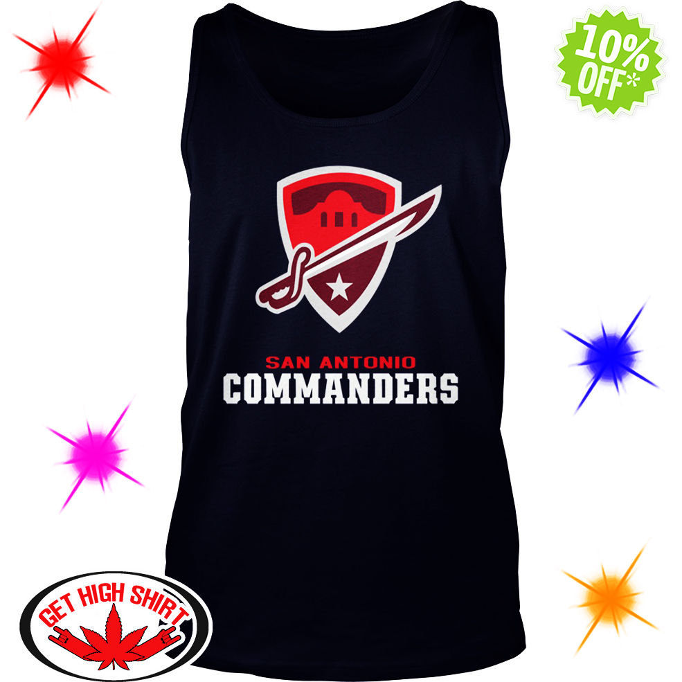 San Antonio Commanders tank top