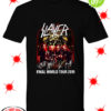 Slayer signatures final world tour 2019 shirt