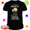 Snoopy and Charlie Brown If I Can't Bring My Dog I'm Not Going shirt