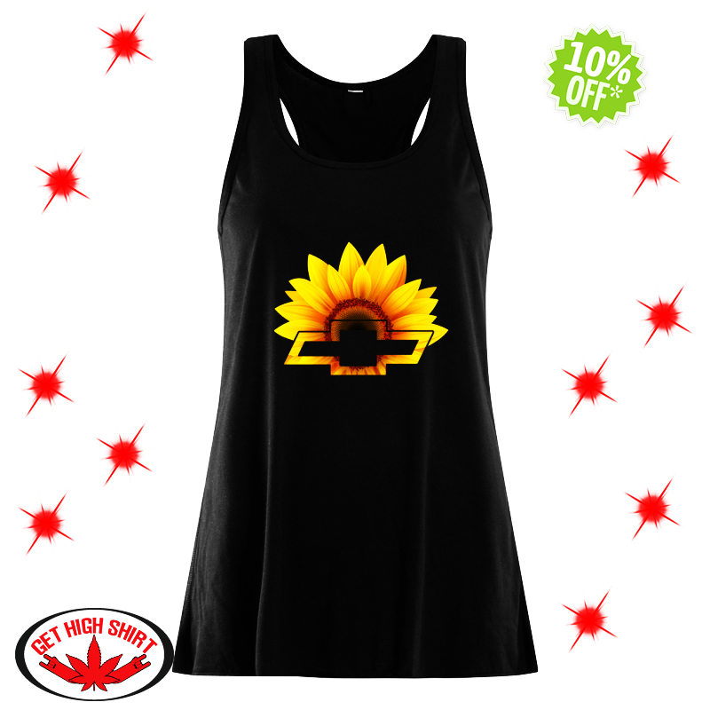 Sunflower Chevrolet flowy tank