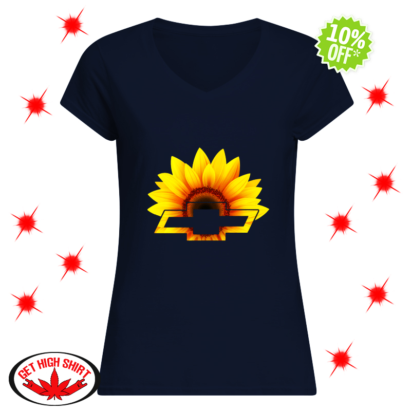 Sunflower Chevrolet v-neck