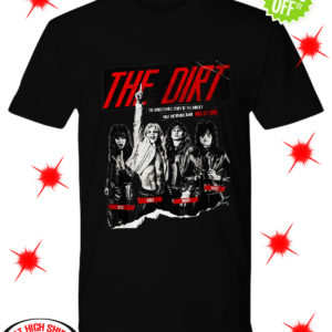 The Dirt Motley Crue shirt