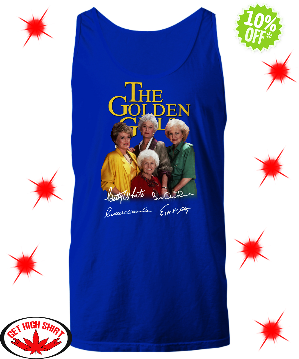 The Golden Girls Autographed tank top