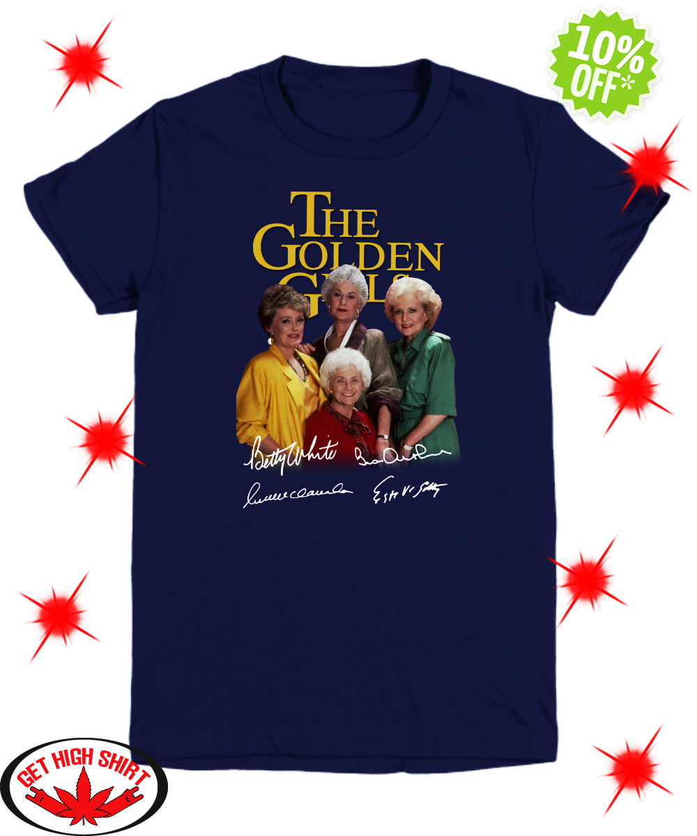 The Golden Girls Autographed youth tee