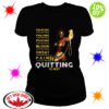 Wonder Woman crawling is acceptable falling is acceptable Quitting is not shirt