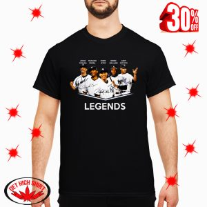 Bernie Williams Core Four Legends shirt