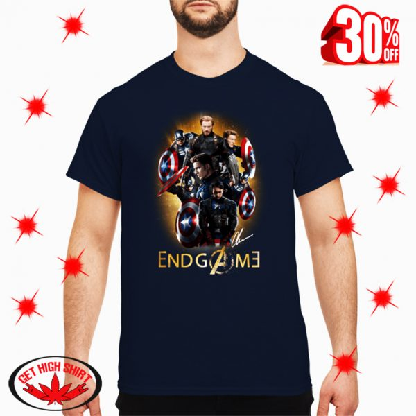 Captain America Avengers Endgame Signature shirt