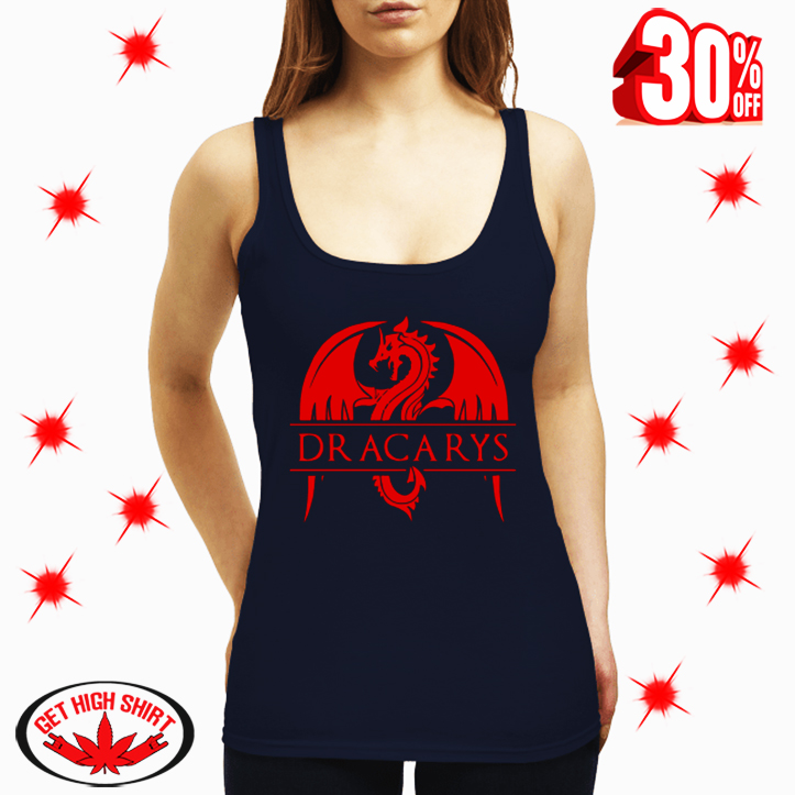 Dracarys Game Of Thrones Dragon tank top