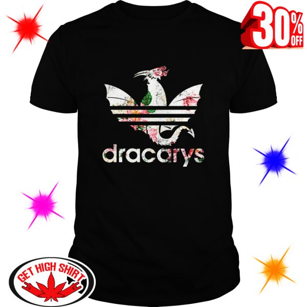 Floral Dracarys Adidas Game Of Thrones shirt