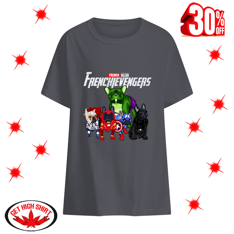 Frenchievengers French Bulldog kid shirt