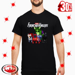Frenchievengers French Bulldog shirt