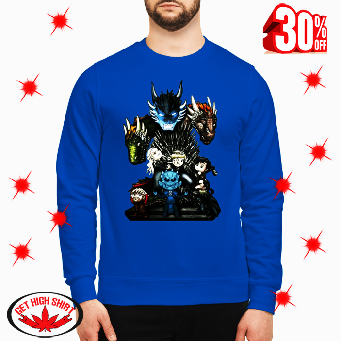 Game of Thrones Who Will Be The King sweatshirt