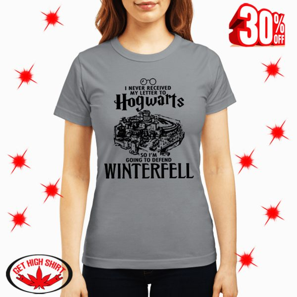 I Never Received My Letter To Hogwarts So I'm Going To Defend Wintereell shirt