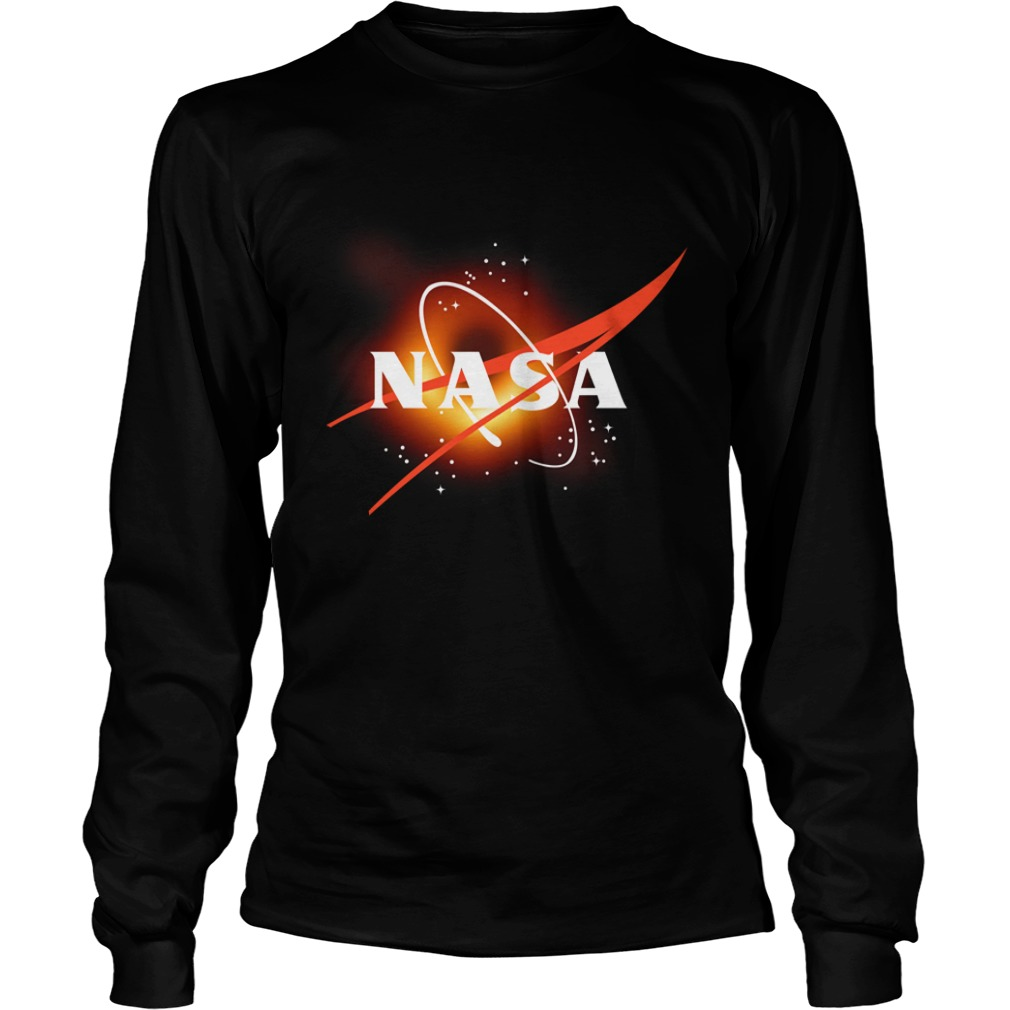 NASA First Image Of A Black Hole 2019 long sleeve tee