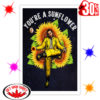 Post Malone You're A Sunflower Poster