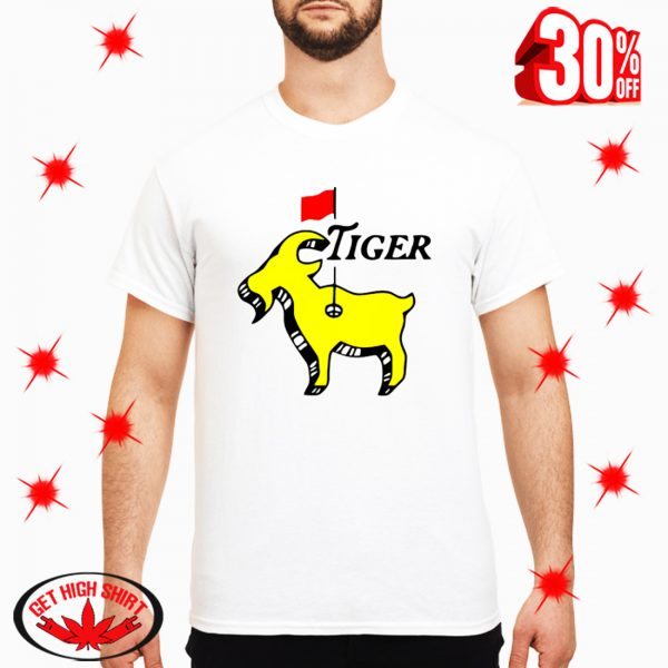 Tiger woods goat masters shirt